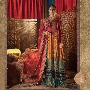Maria B Formal Designer pakistani indian suit